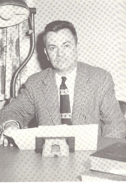 Ralph W. Keyes, Hospital Administrator - from Tom Melton - Arvin Folks Magazine, July-August, 1957