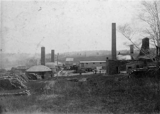 Brownstown brickyards