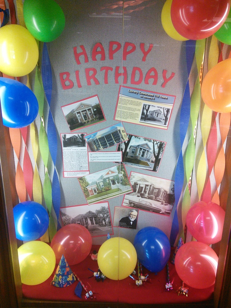 Celebrating 110 Years at the Jackson County Public Library