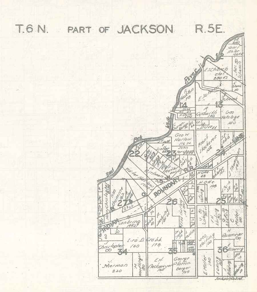 Part of Jackson Township