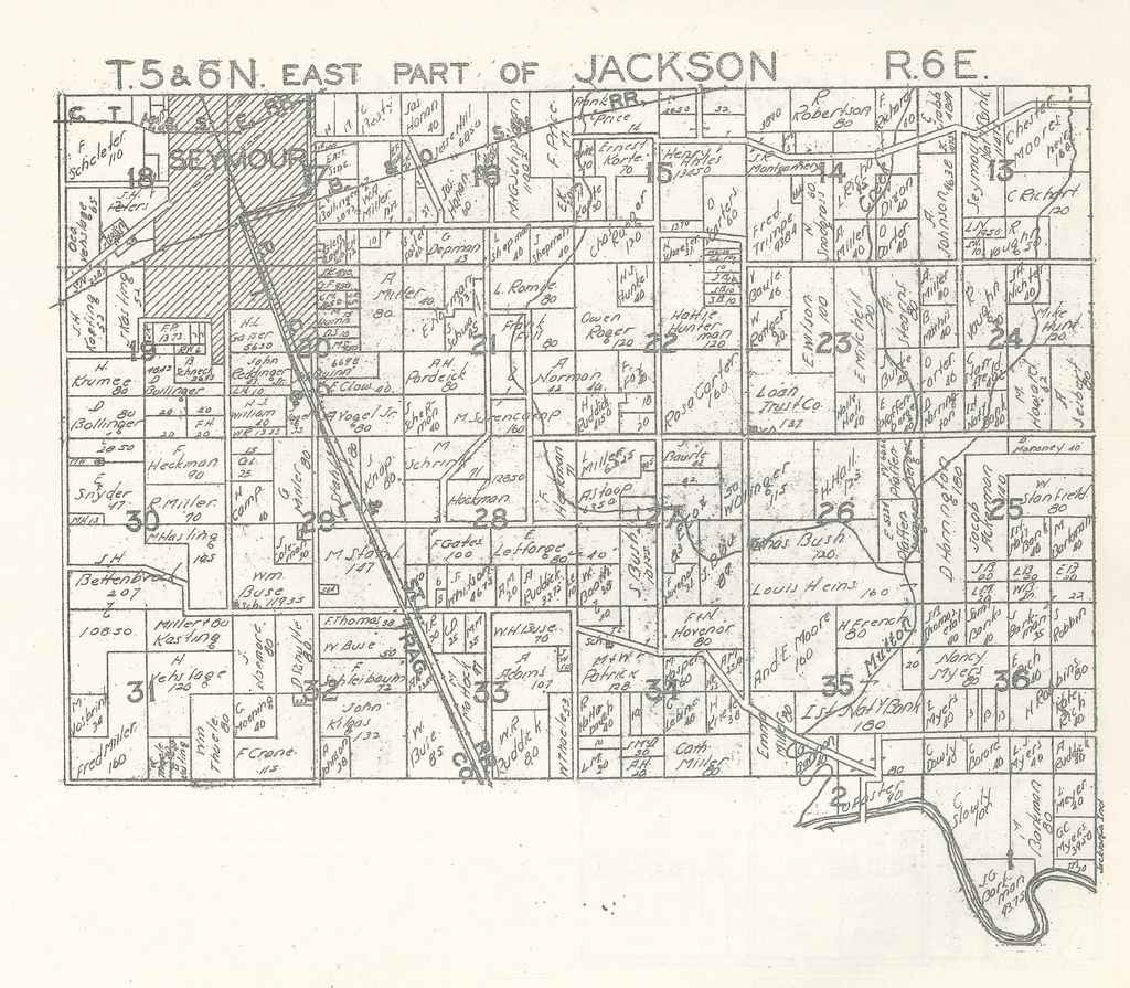 East part of Jackson Township