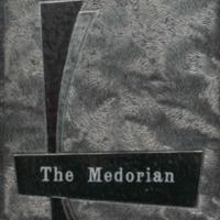 Medora High School Yearbook 1958-1959