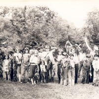 Fishing Tournament  on 8-19-78 - from the Seymour Tribune, bw 9.31x6.32