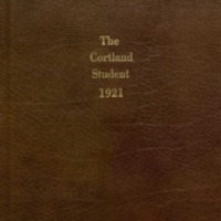Cortland High School Yearbook 1921