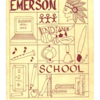 Emerson Elementary Yearbook 1991-1992