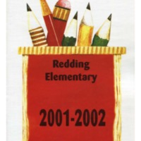 Redding Elementary School Yearbook 2001-2002