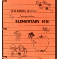 M. R. Brown School Elementary 1981