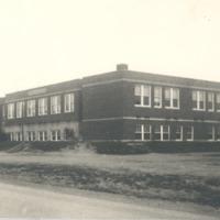 Cortland High School, 1938. - from George Polly, bw 7.94x5.64