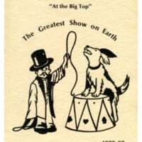 "Jackson School ""At the Big Top"" The Greatest Show on Earth 1989-90"
