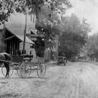 Vallonia Indiana, Street scene 1890