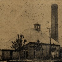 Water and Light Power House at Brownstown - from Jackson County Historical Society