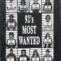 Medora High School Yearbook 1991-1992