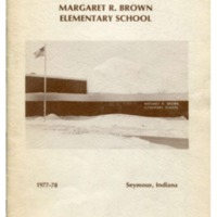Margaret R. Brown Elementary School Yearbook 1977-78
