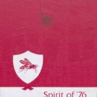 Medora High School Yearbook 1975-1976