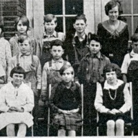 Sparksville, 3rd School, Room II - from Paul Carr, bw 7.79x3.29