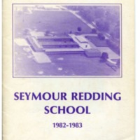 Seymour Redding Elementary School Yearbook 1982-83