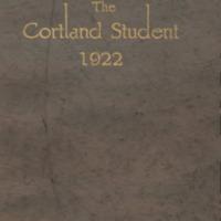 Cortland High School Yearbook 1922