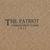 The Patriot Commencement Number 1911