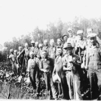 WPA Workers, picture from Jess McQuillen Spall - from Francis Schill, bw 8.25x5
