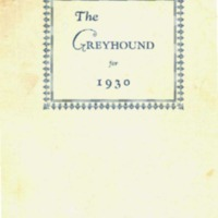 The Greyhound for 1930