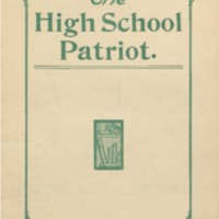 The High School Patriot. Commencement Number 1905