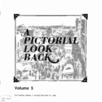 A Pictorial Look Back: Volume 5