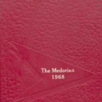 Medora High School Yearbook 1967-1968
