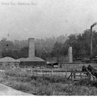 The Medora Shale Brick Company, Medora, IN - from Paul Carr, 4 1/2 x 6, bw