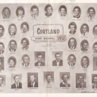 Cortland High School 1957 Graduating Class