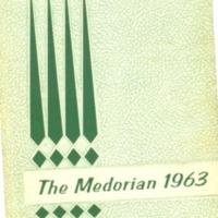 Medora High School Yearbook 1963