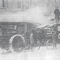 Steam Engine and Thresher