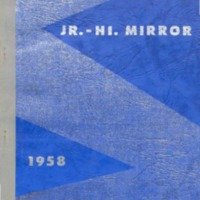 Jr.-Hi. Mirror 1957-1958