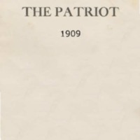 The Patriot Thanksgiving 1909
