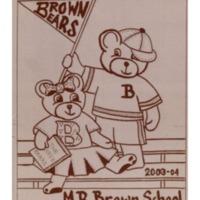 Margaret R. Brown Elementary School Yearbook 2003-04