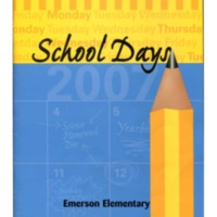 Emerson Elementary Yearbook 2006-2007