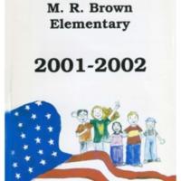 Margaret R. Brown Elementary School Yearbook 2001-2002