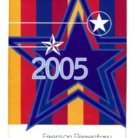 Emerson Elementary Yearbook 2004-2005