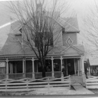 Residence of Mr. And Mrs. George Zollman, Medora, IN, - from Paul Carr, 4 1/2 x 6, bw