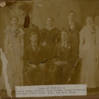 Graduating Class of 1898 Brownstown High School - Jackson County Historical Society