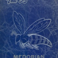 Medora High School Yearbook 1952-1953