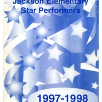 Jackson Elementary Star Performers 1997-1998
