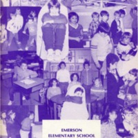 Emerson Elementary Yearbook 1982-1983