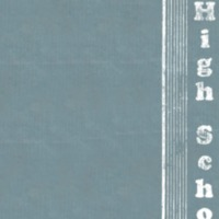 Shields High School Yearbook 1933