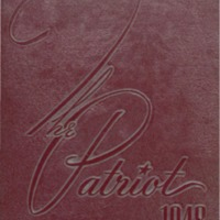 Shields High School Yearbook 1948