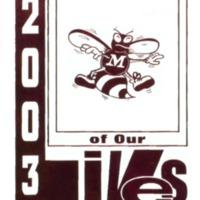 Medora High School Yearbook 2002-2003