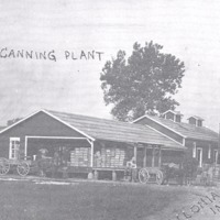 Vallonia Canning Co. in 1912, discontinued in the late 1950's.