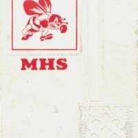 Medora High School Yearbook 1987-1988