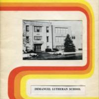 Immanuel Lutheran School 1976-1977