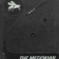 Medora High School Yearbook 1960