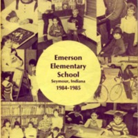 Emerson Elementary Yearbook 1984-1985